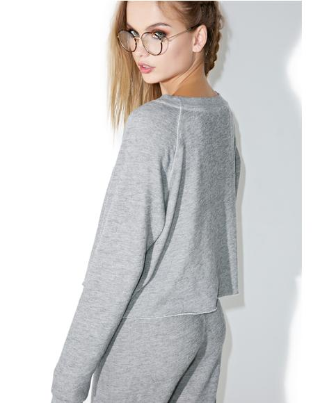 Monte Crop Sweatshirt