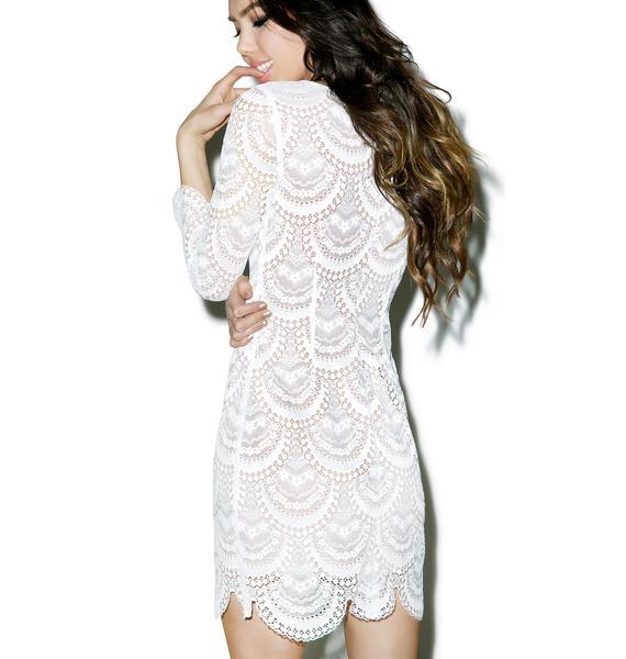 For Love & Lemons Rosalita Mini Dress