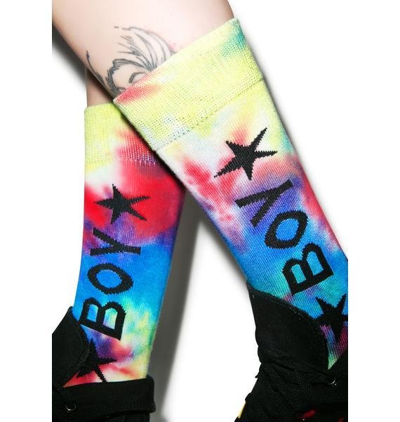 BOY London United Boy Calf Socks
