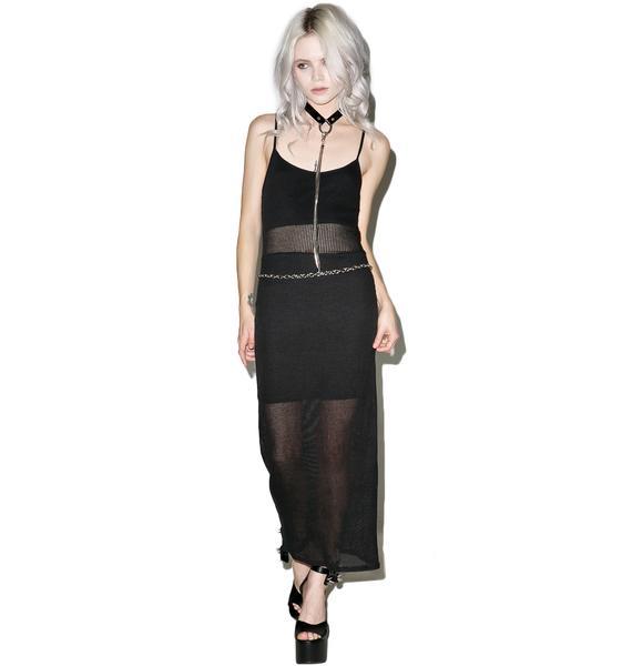 Killstar Dome Play Maxi Dress