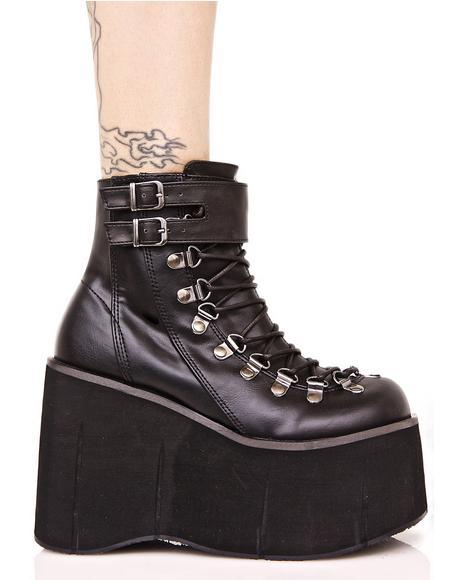 Kera Lace-Up Platform Boots