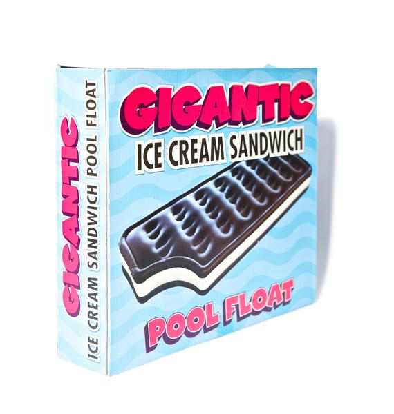 Gigantic Ice Cream Sandwich Pool Float