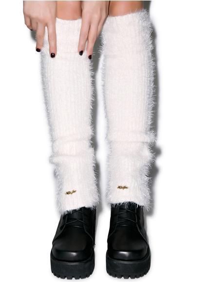 Loose Angora Leg Warmers