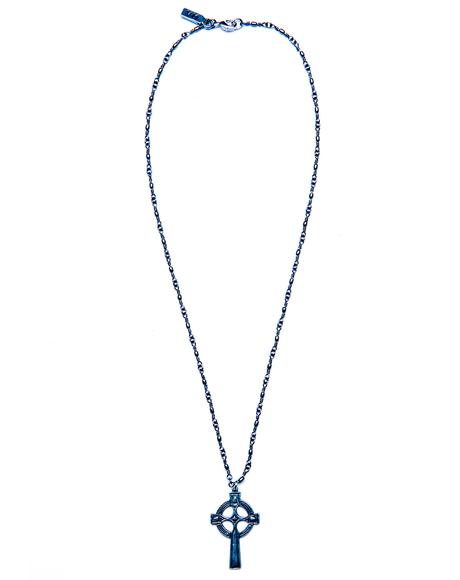 Olesia Cross Necklace