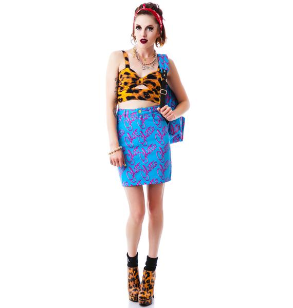 Joyrich Ghetto Blast High Waist Skirt