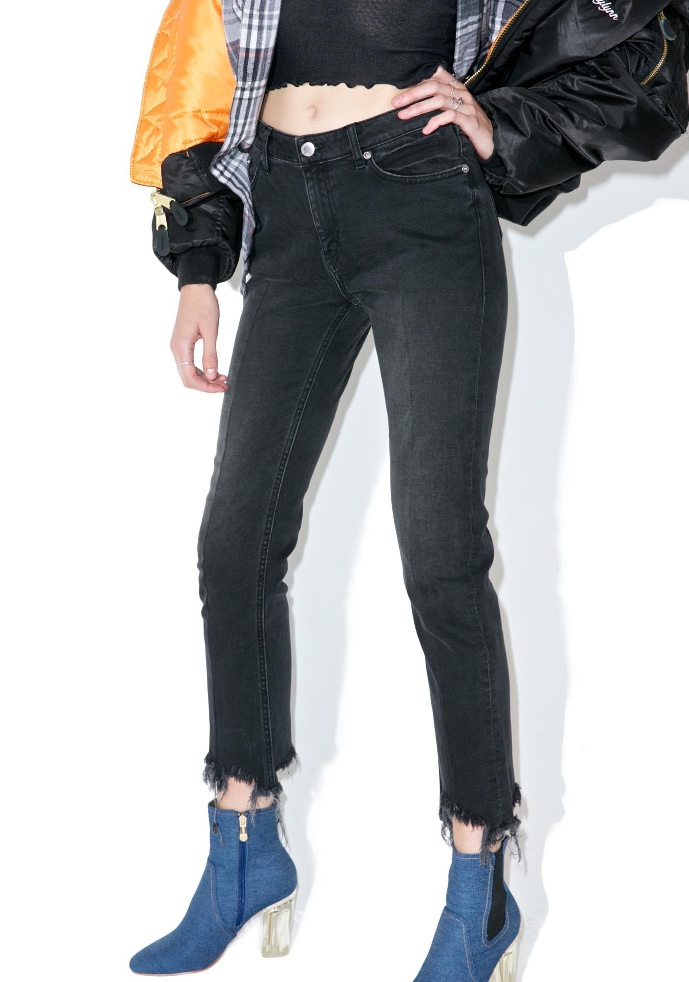 Cheap Monday Common Straight Leg Jeans