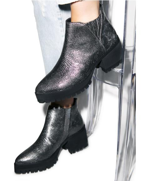 Metallic Wolf Boots