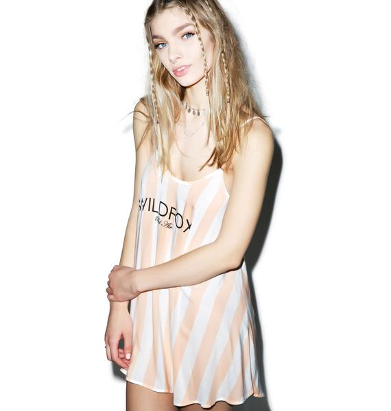 Wildfox Couture Hotel Stripe Bell's Beach Dress