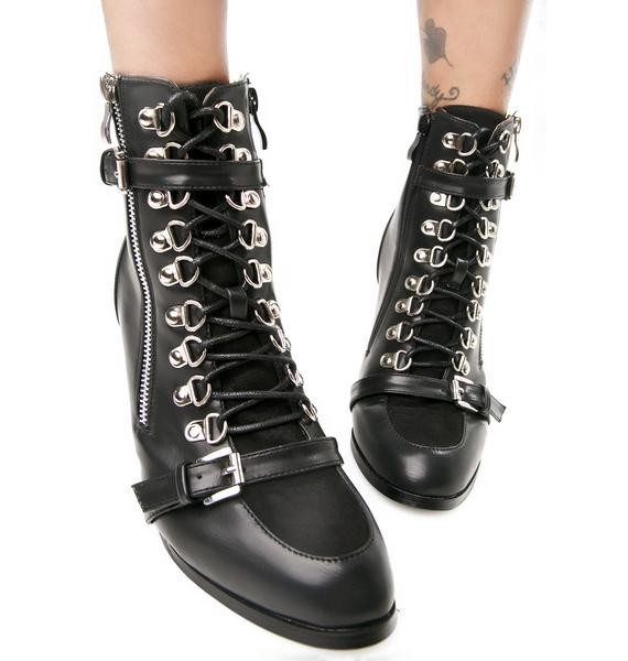 Rogue Lace-Up Boots