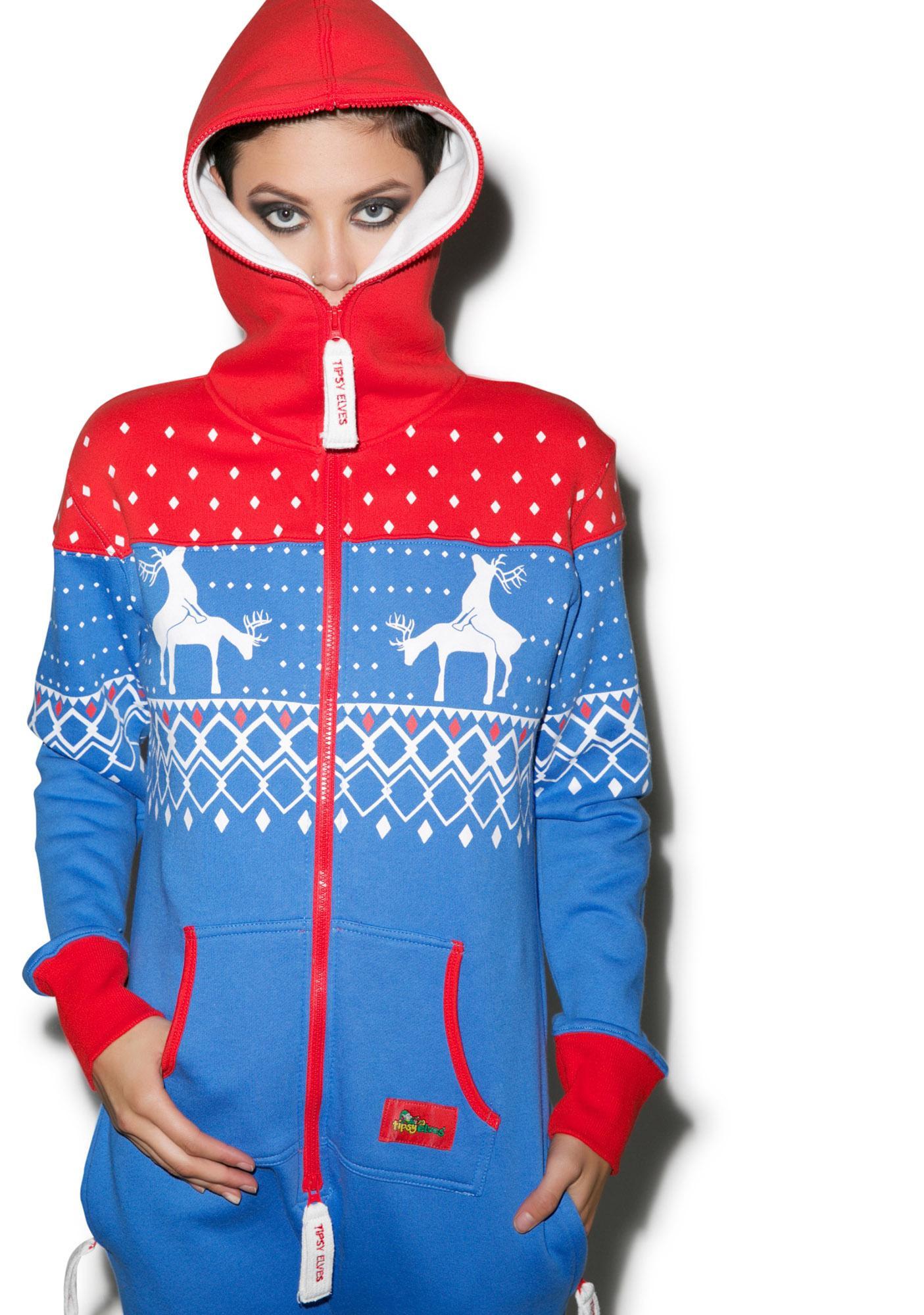 Tipsy Elves Reindeer Games Jumpsuit