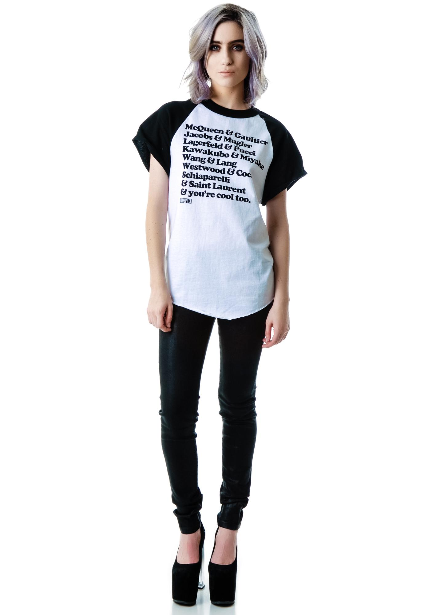 Dimepiece You're Cool Too Sport Raglan