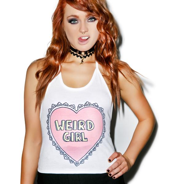 Weird Girl Halter Top