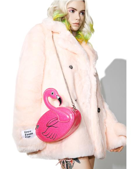 Flamingo Crossbody Bag