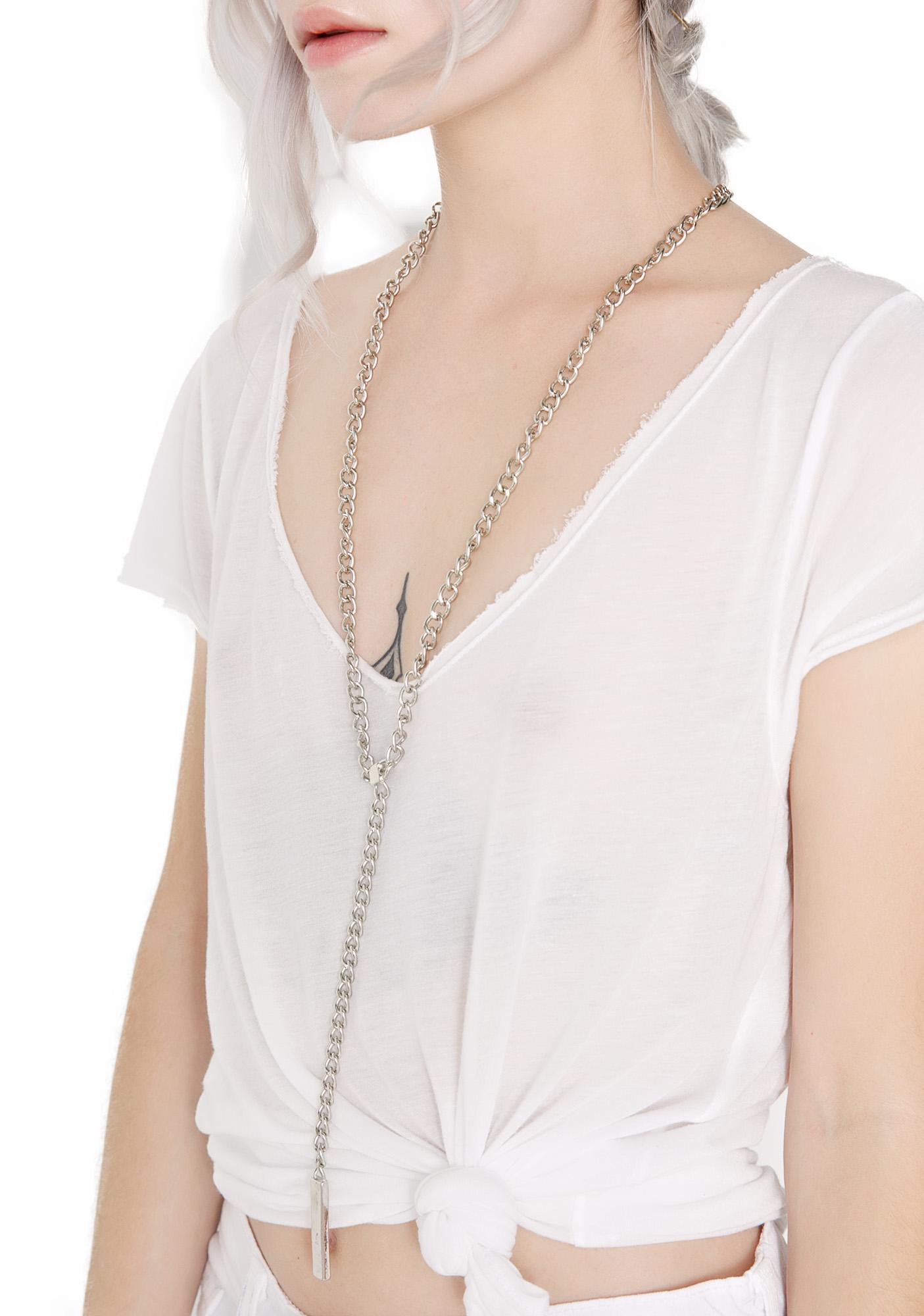 Colonnade Lariat Necklace