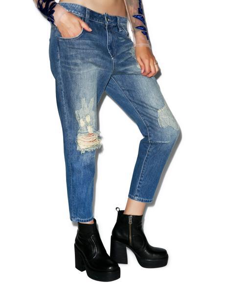 Baggy Crop Jeans
