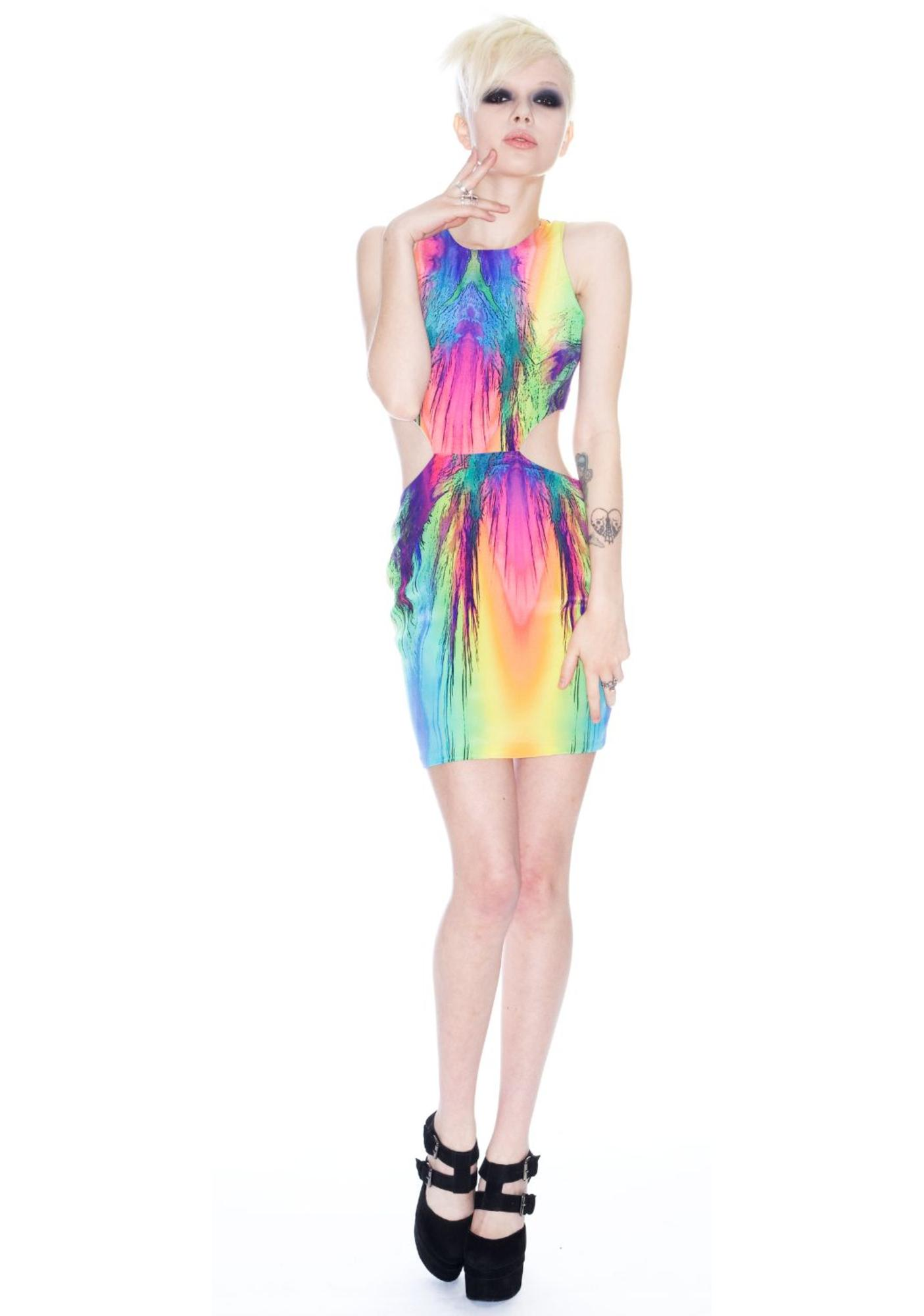 Carnival Cut Out Dress