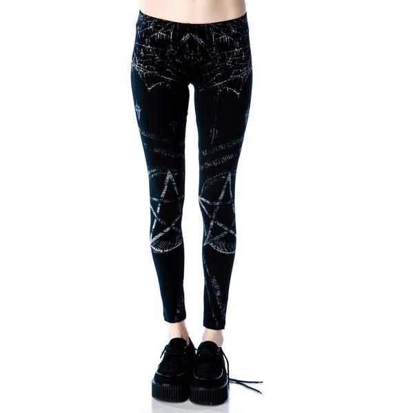 Lip Service Pentagram Discharge Leggings