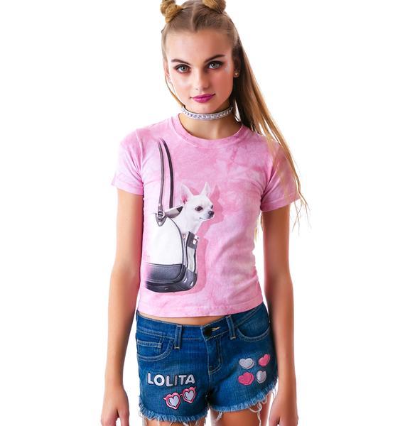 United Couture Lolita Denim Shorts