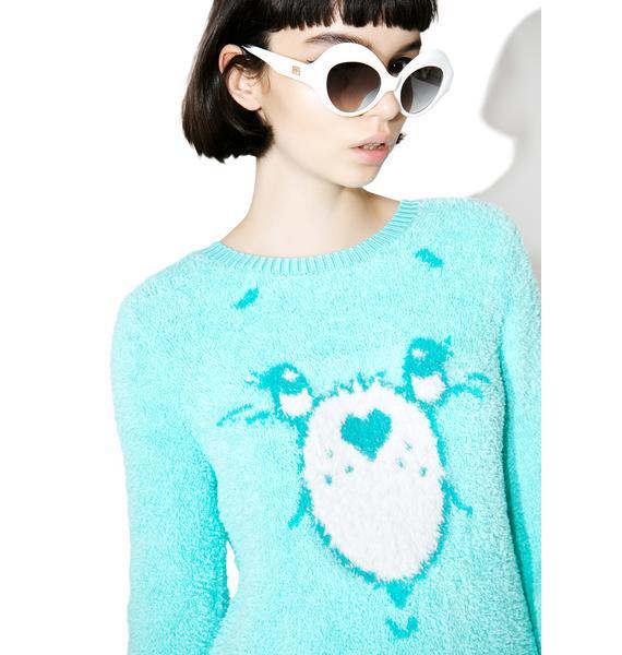Iron Fist Wish Bear Sweater