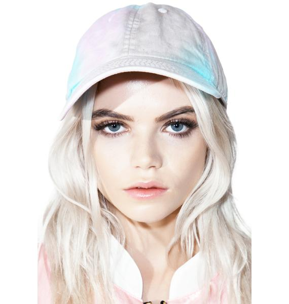 MeYouVersusLife Pastel Tie Dye Dad Cap