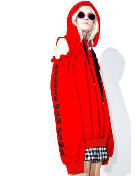 Long Sleeve Embroidery Hoodie
