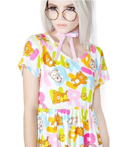 Rilakkuma Rainbow Dress
