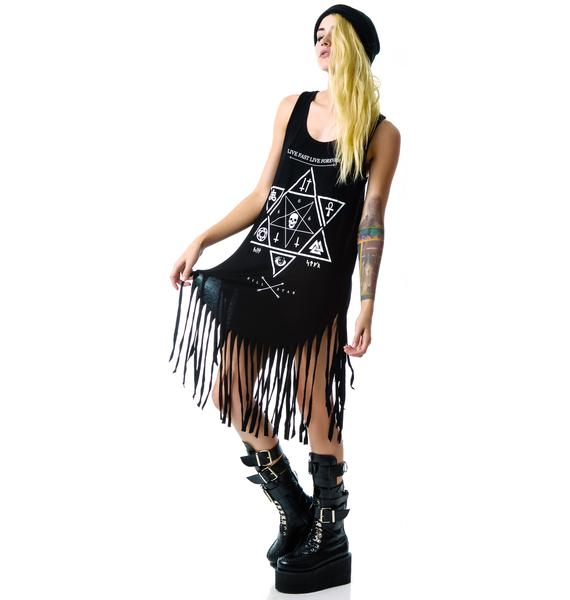 Killstar Witchcraft Fringe Dress
