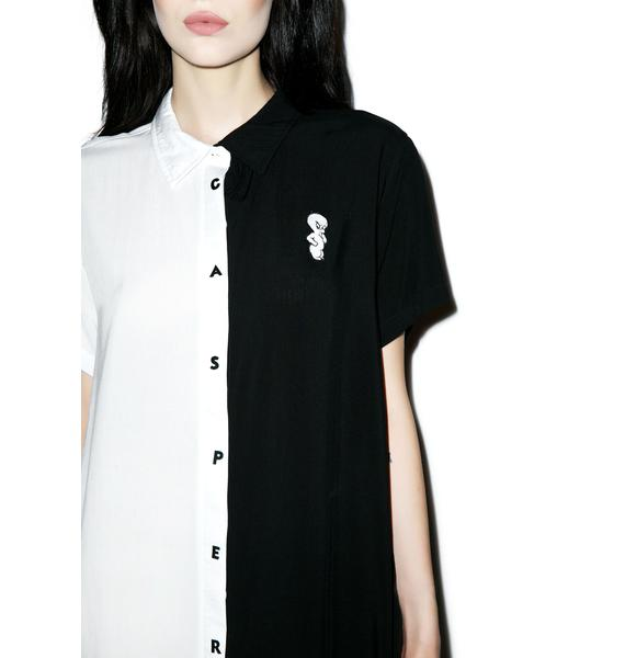 Lazy Oaf X Casper Darkside Shirt
