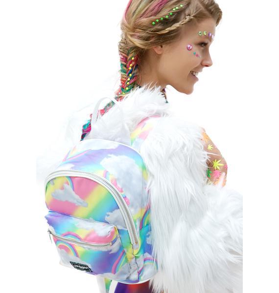 Jaded London Rainbow Cloud Backpack