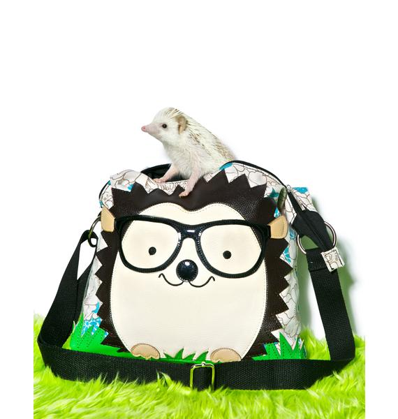Nerdy Hedgehog Shoulder Bag