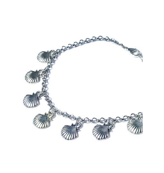 Vidakush Sea Shell Charm Anklet