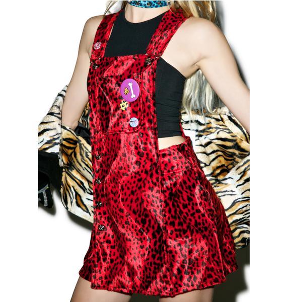 Indyanna Jelka Red Shortalls