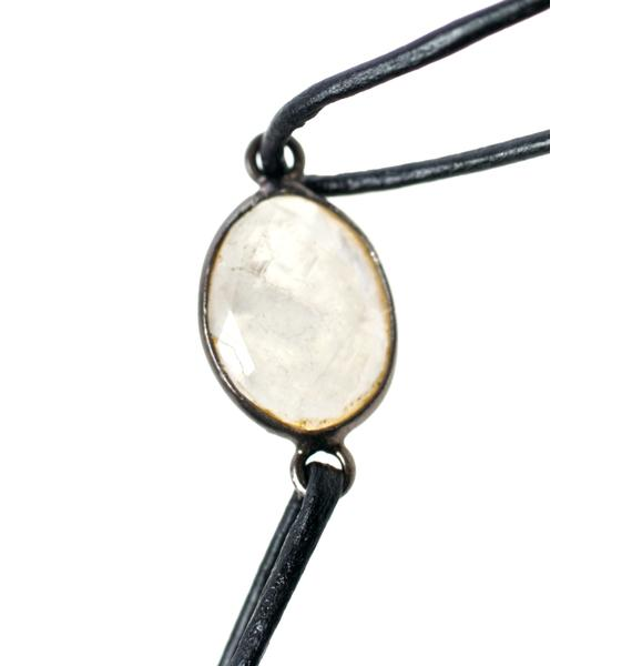 Vanessa Mooney The Maiden Moonstone Choker