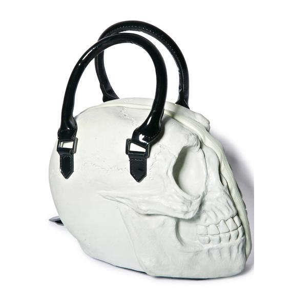Kreepsville 666 Glow Skull Collection Hand Bag