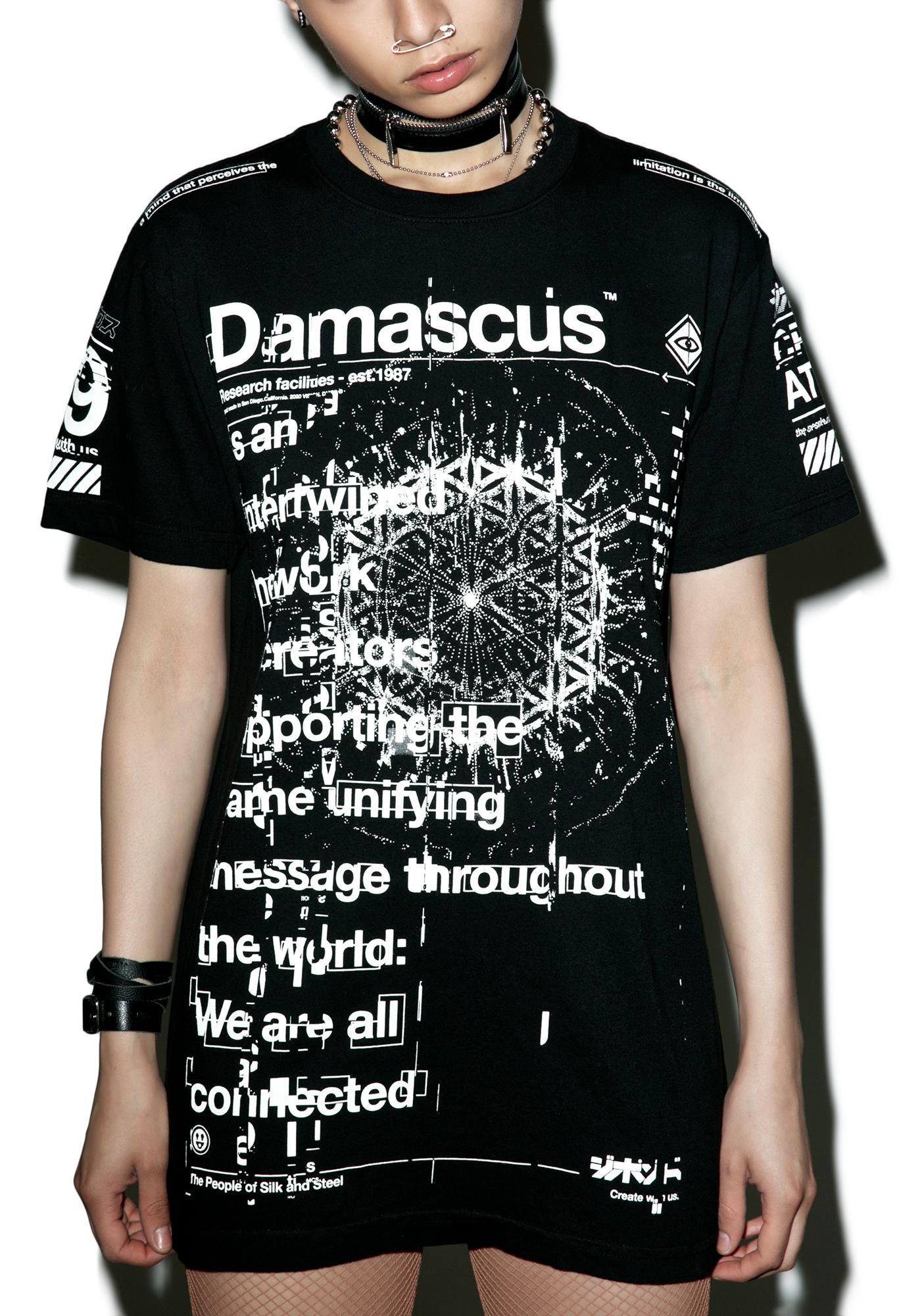 Damascus Molecule Tee