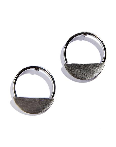 Discus Earrings