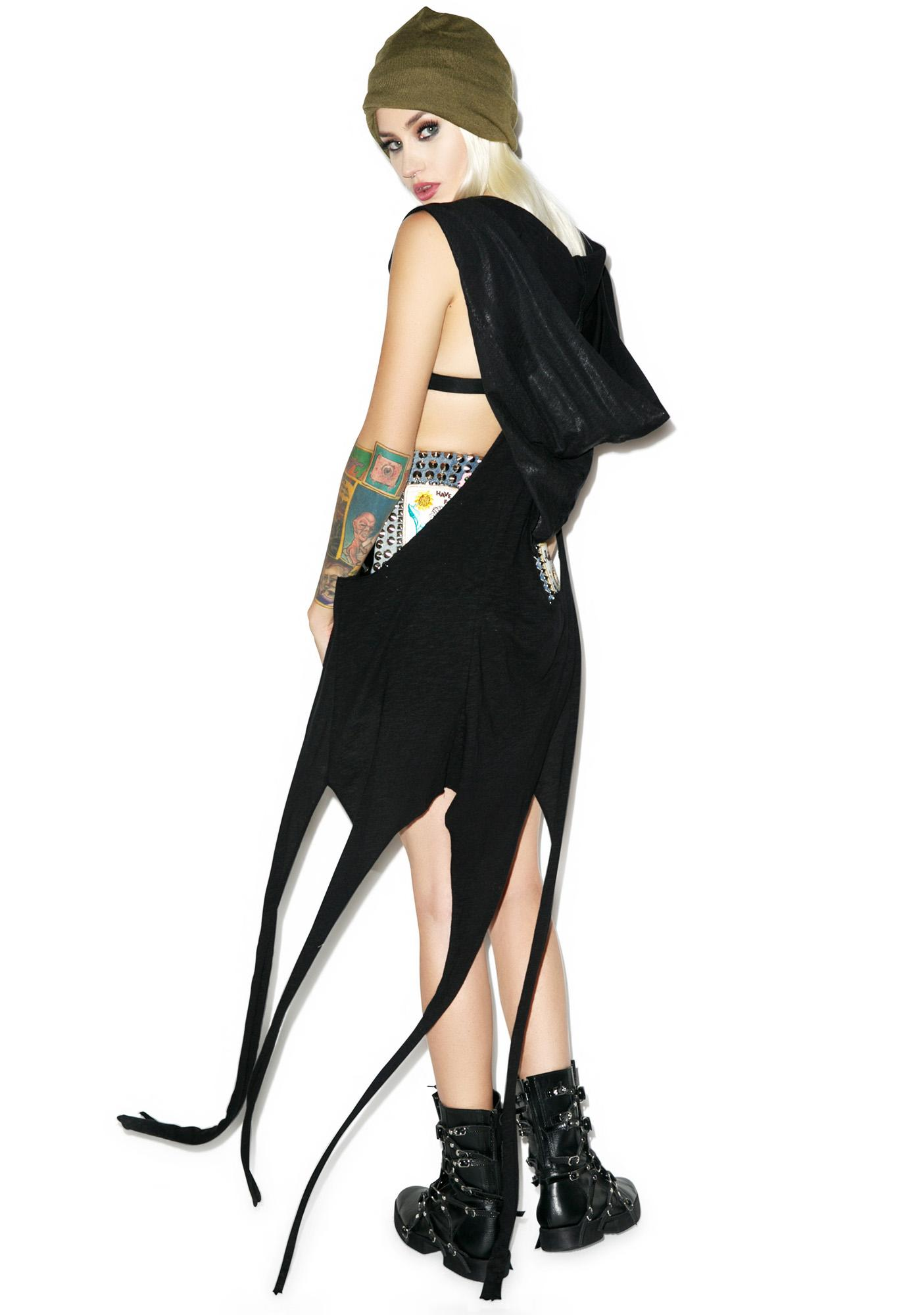 Witch Hunt Oversized Hooded Vest