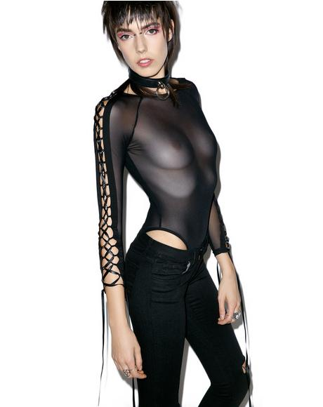 Cross Over Bodysuit
