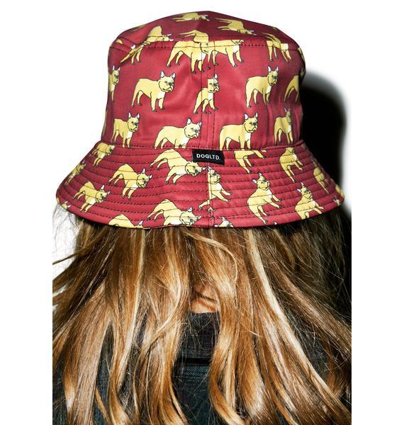 French Bulldog Bucket Hat