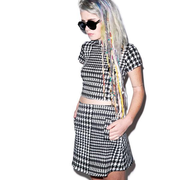 Motel Nina High Waisted Skirt