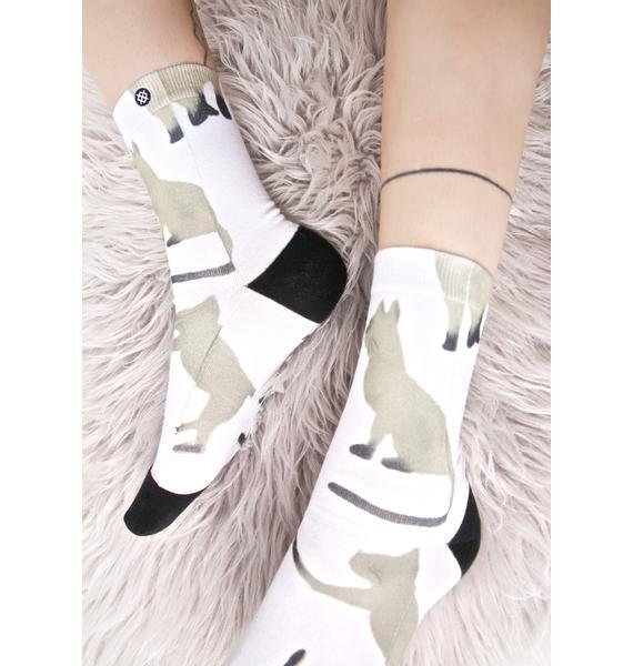 Stance Cat Anklet Socks