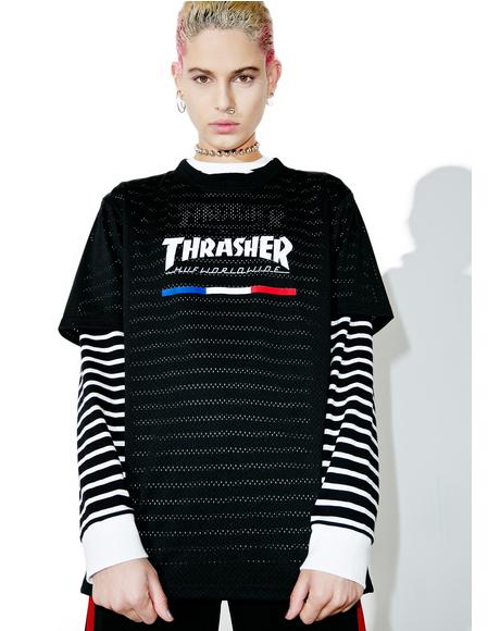 X Thrasher TDS Mesh Jersey