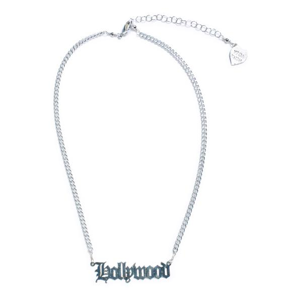 Vidakush Hollywood Nameplate Choker