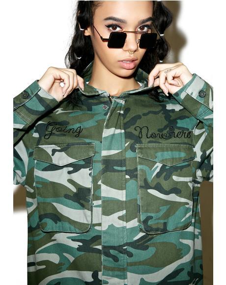 FTW Camo Jacket