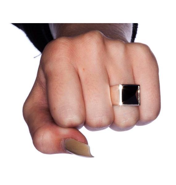 Stolen Girlfriends Club Pyramid Ring