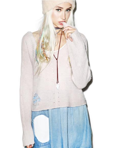 Terra Crop Sweater