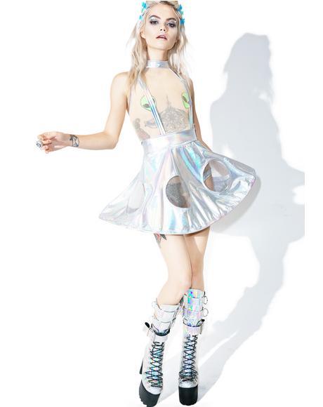 X Dolls Kill Space Invader Costume Set