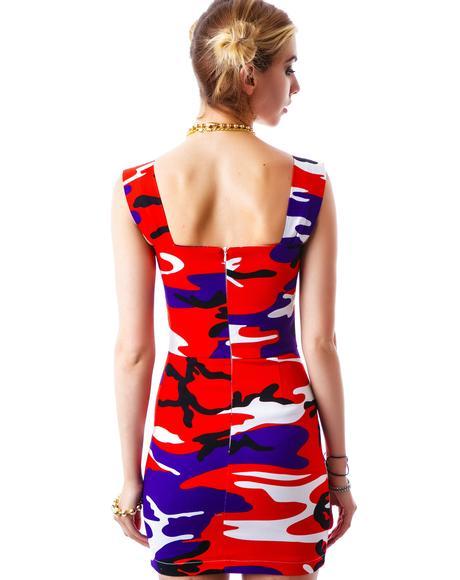 Ocean Safari Tube Dress