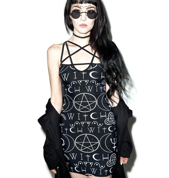 Darkness Prevails Bodycon Dress