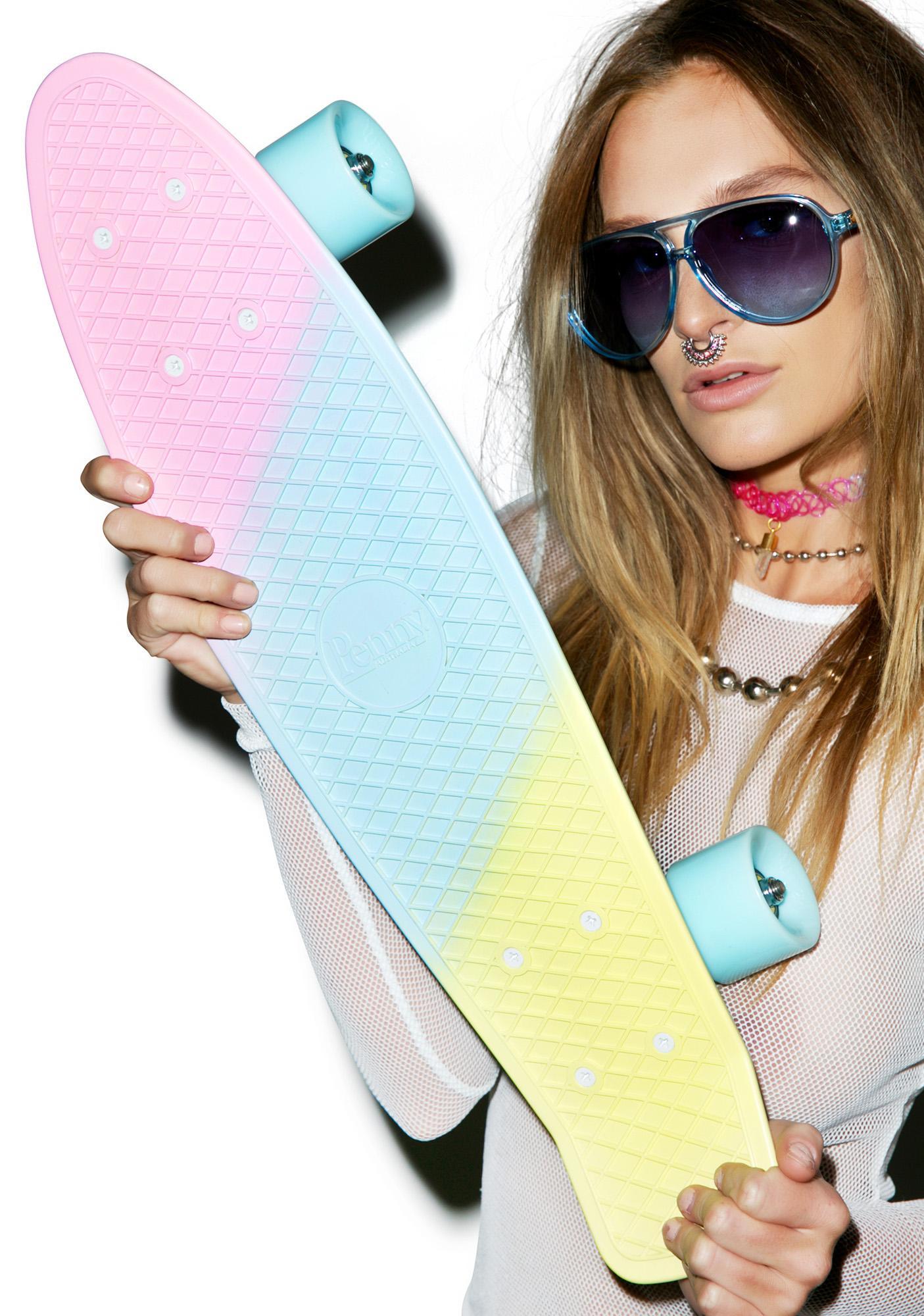 Penny Skateboards Candy Painted Penny Skateboard